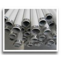 Mât de chantier aluminium blanc