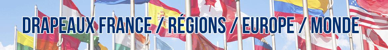 Achetez votre drapeau Français, régional ou européen