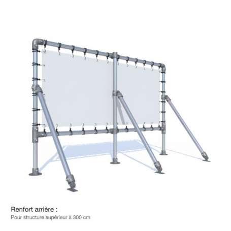 Structure MEDIUM sur pieds 0.5m du sol