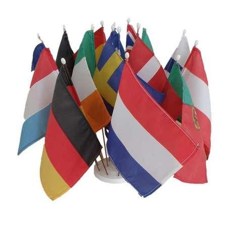Drapeau de table de pays