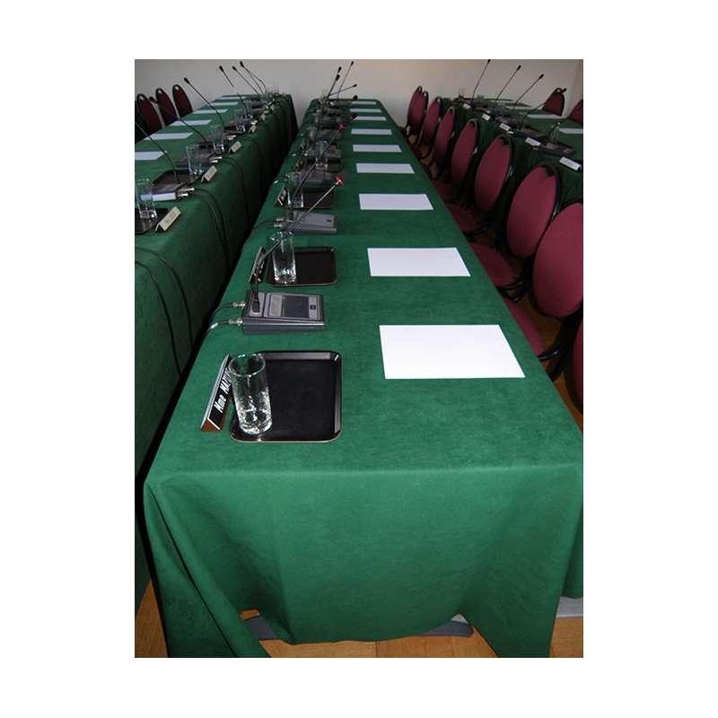 Tapis de table ignifugé pour mairie