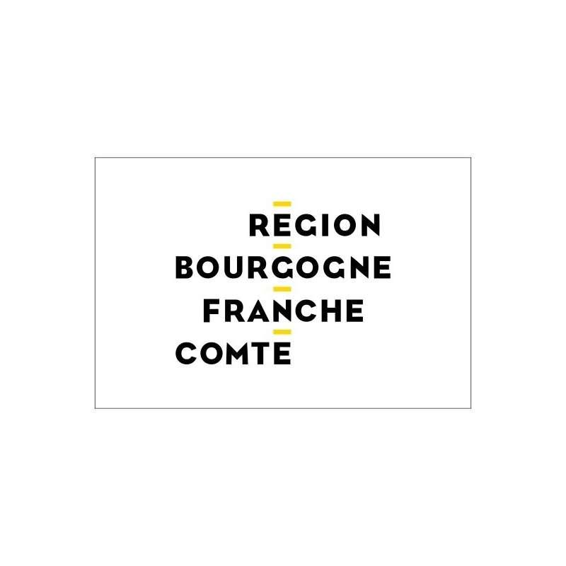 Drapeaux Région Bourgogne Franche-Comté