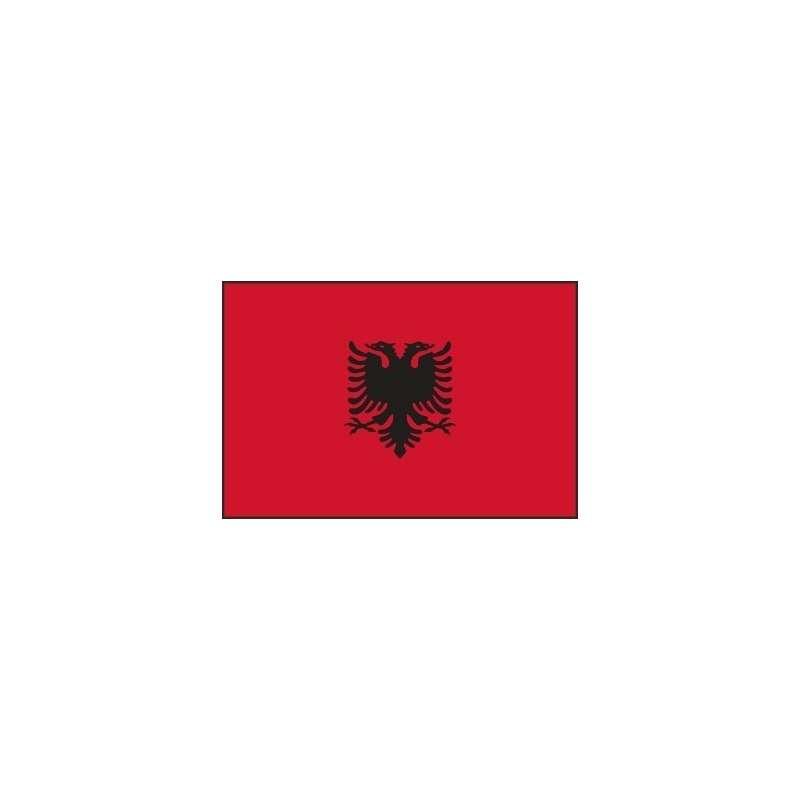Drapeau d'Albanie