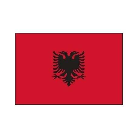 Drapeau / Pavillon d'Albanie