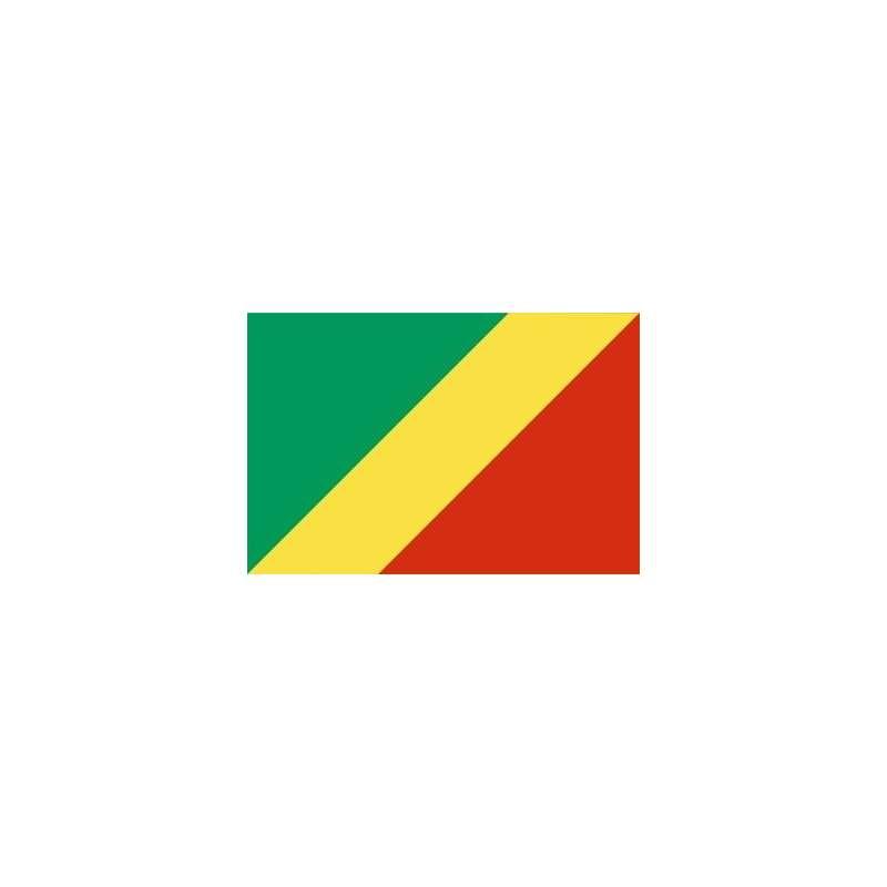 Drapeau Congo (Brazzaville)