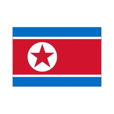 Drapeaux Corée du Nord