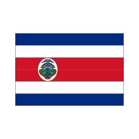 Drapeaux Costa Rica (écusson)