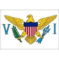 Drapeau / Pavillon Îles Vierges États-Unis (S3)