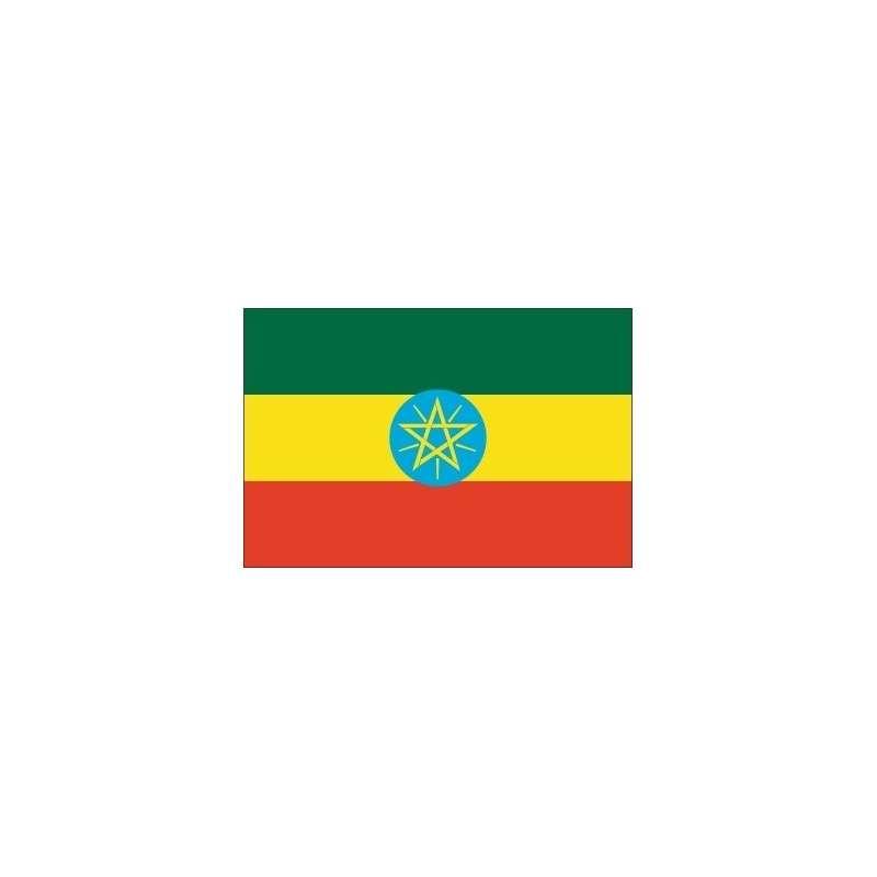 Drapeau Ethiopie