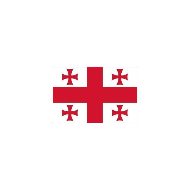 Drapeaux Géorgie