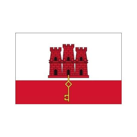 Drapeau Gibraltar