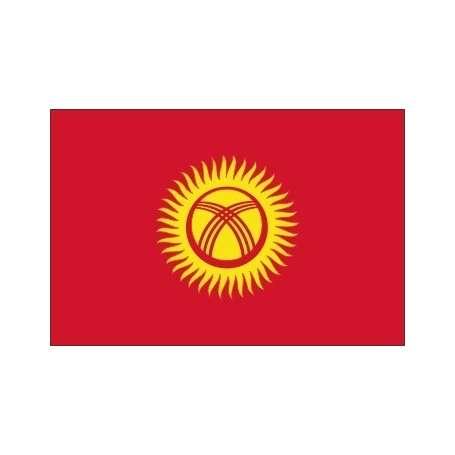 Drapeau / Pavillon Kirghizistan (S3)
