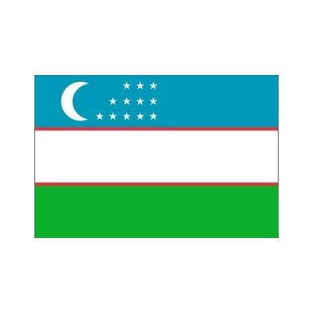 Drapeau / Pavillon Ouzbekistan (S3)