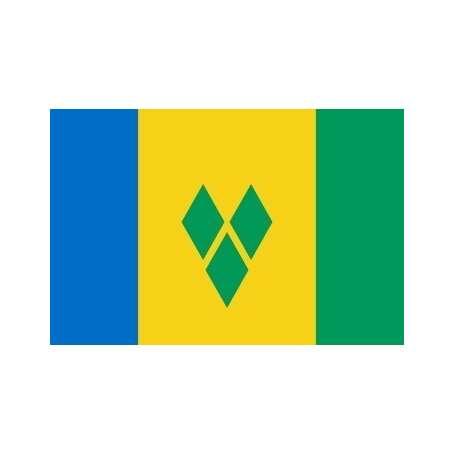 Drapeau Saint-Vincent et Les-Grenadines