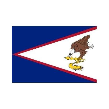 Drapeaux Samoa Américaines