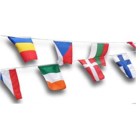 Guirlande de pavillons 17 Nations