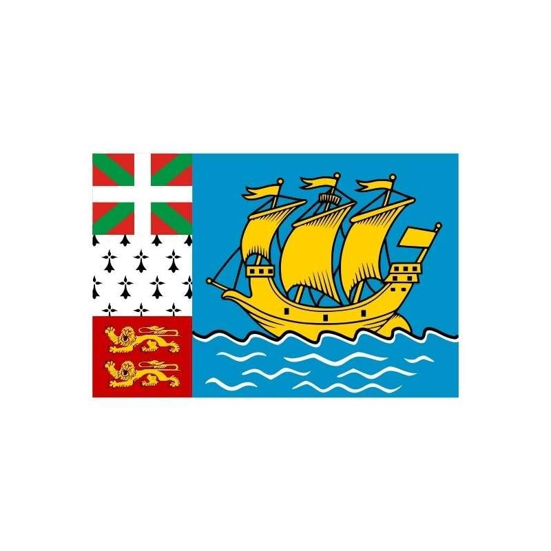 Drapeau Saint-Pierre et Miquelon