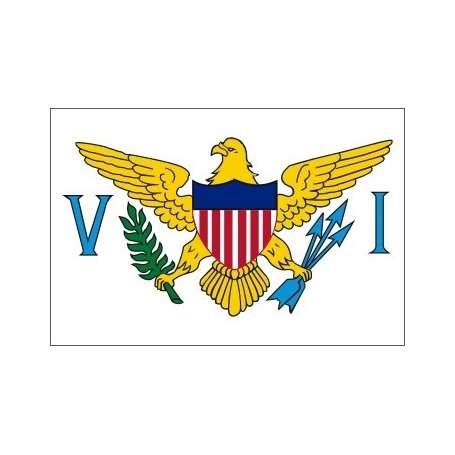 Pavillons Iles Vierges Etats Unis
