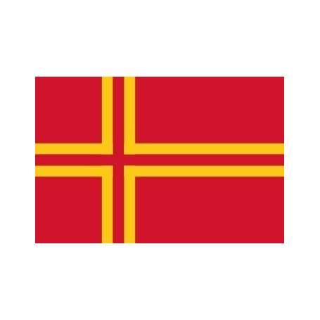 Drapeau Normandie croix scandinave