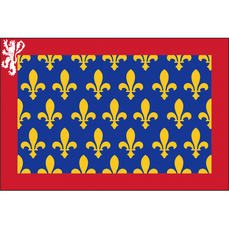 Drapeau de la province française du Maine