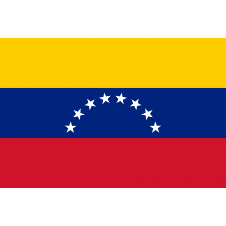 Drapeaux Venezuela sans écusson