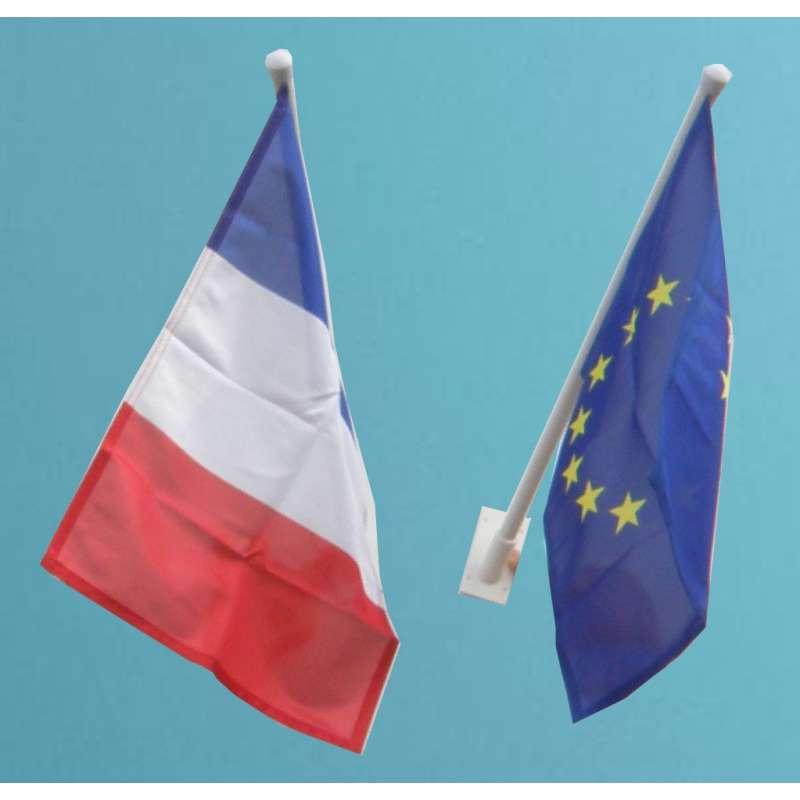 France Versailles Bâton Drapeau Drapeaux Drapeaux Stock drapeau 30x45cm
