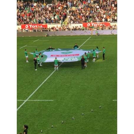 Drapeaux géants pour supporters (TIFO)