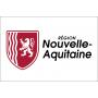 Drapeau / Pavillon Région Nouvelle Aquitaine (S2)