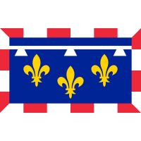 Drapeau / Pavillon historique Centre Val de Loire  (S3)