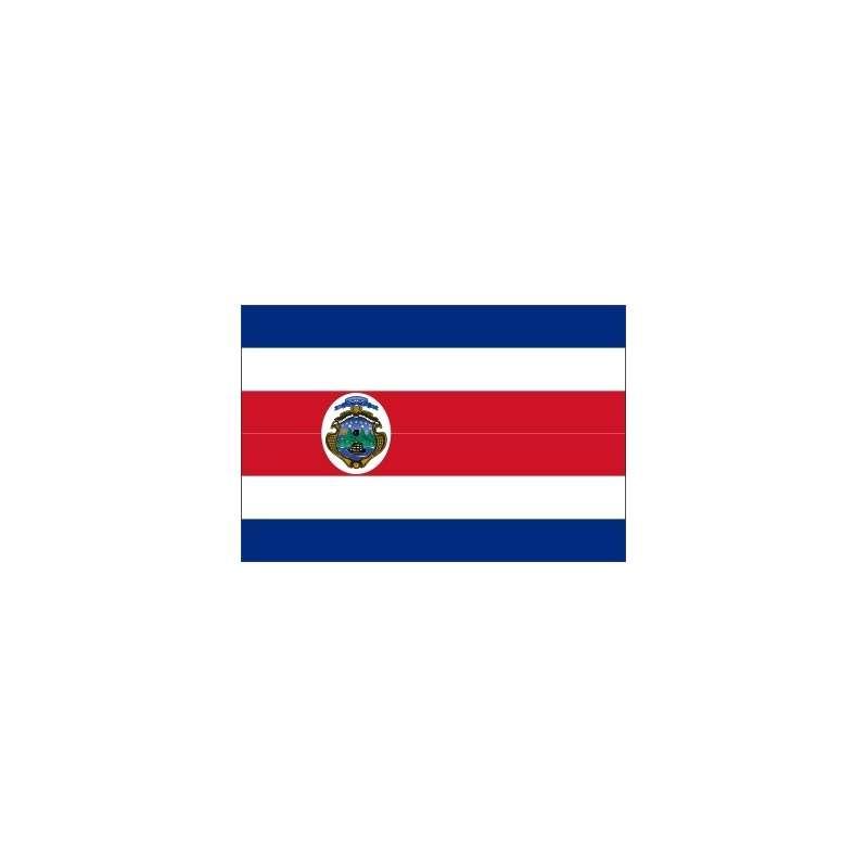 Pavillons Costa Rica (écusson)