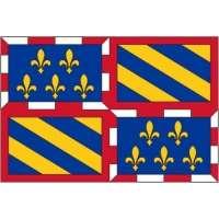 Drapeaux Bourgogne