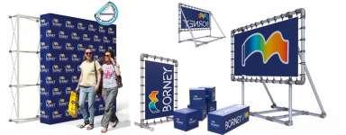 Structures d'exposition pour Salons et  Showroom