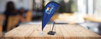 Drapeaux de tables - Set table Flag