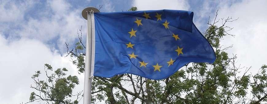 Oriflammes, Guirlandes, Drapeaux et Pavillons de l'Union Européenne