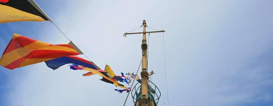 Vente en ligne de pavillonnerie maritime et nautique