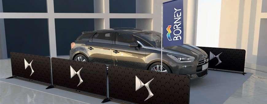 Signalétique automobile : garage, concession , station de lavage