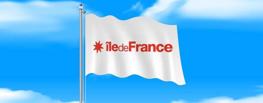 Pavillons et drapeaux des régions françaises