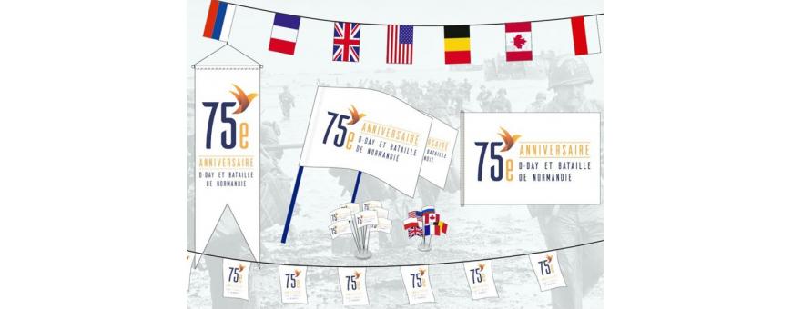 75ème anniversaire D-Day et bataille de Normandie