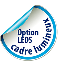 option LEDS cadre lumineux