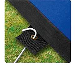 Fixation du drapeau de sol par sardibes