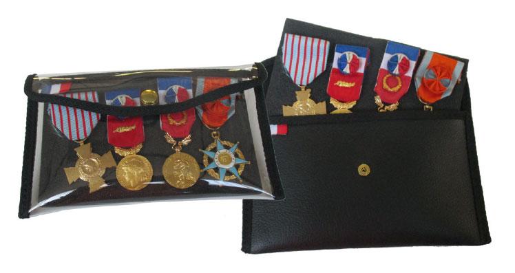 Pochette médaille