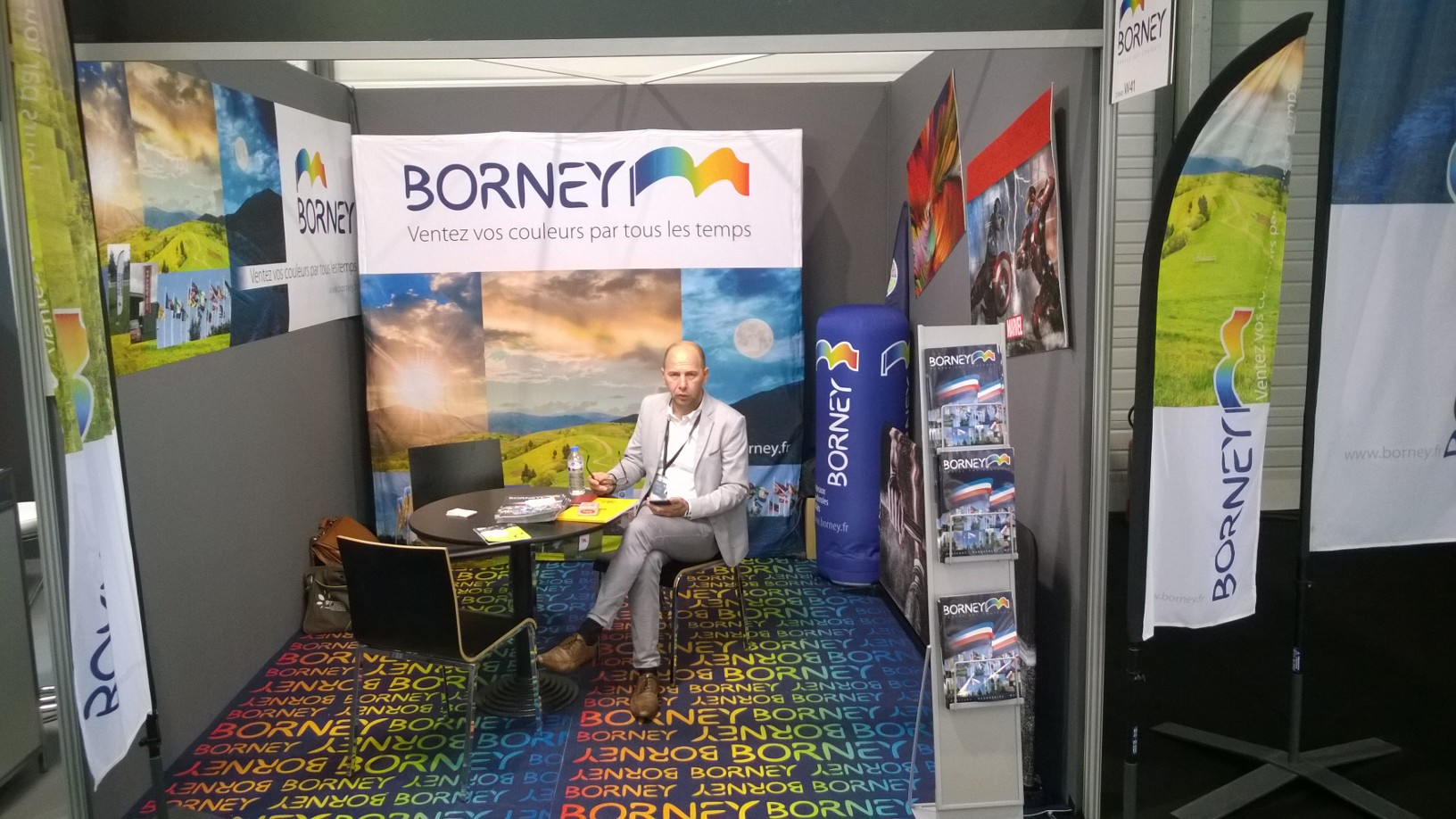 Stand Borney