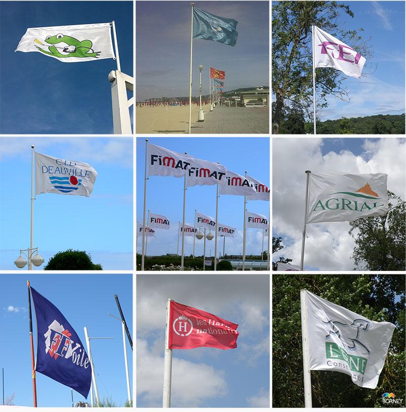 Impression de drapeaux personnalisés